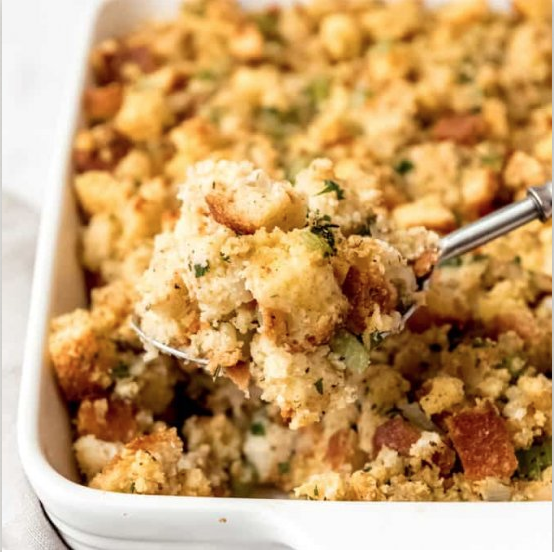 Southern Cornbread Stuffing, thanksgiving blog