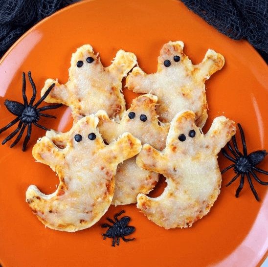 Ghost pizzas