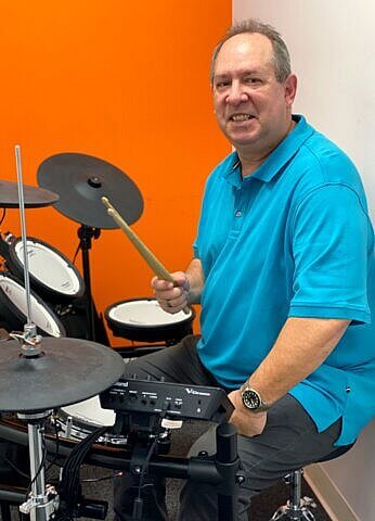 Bob Snyder drum teacher at Center Stage Music Center