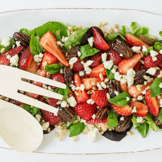 Berry & Farro Salad