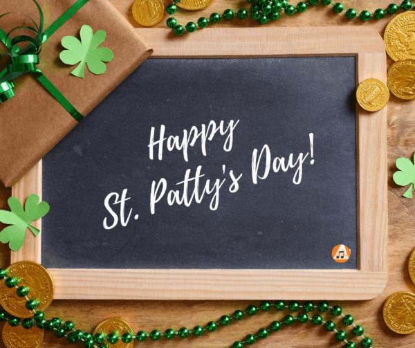 St Particks Day blog