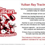 Open Graphics API Vulkan Adds RayTracing Support