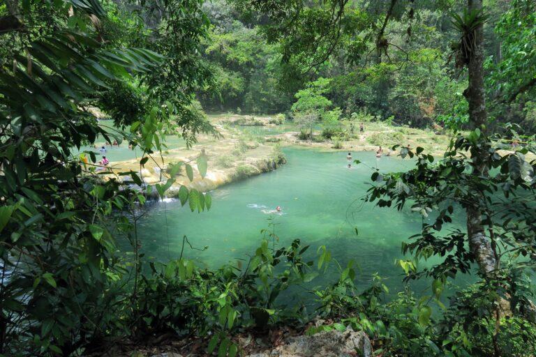 Semuc Champey, el secreto de la jungla de Guatemala