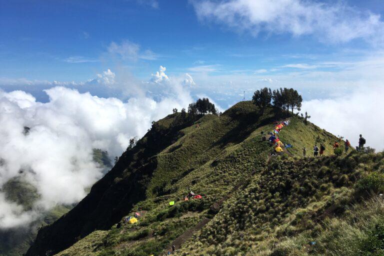 Rinjani, tocando el cielo en Indonesia