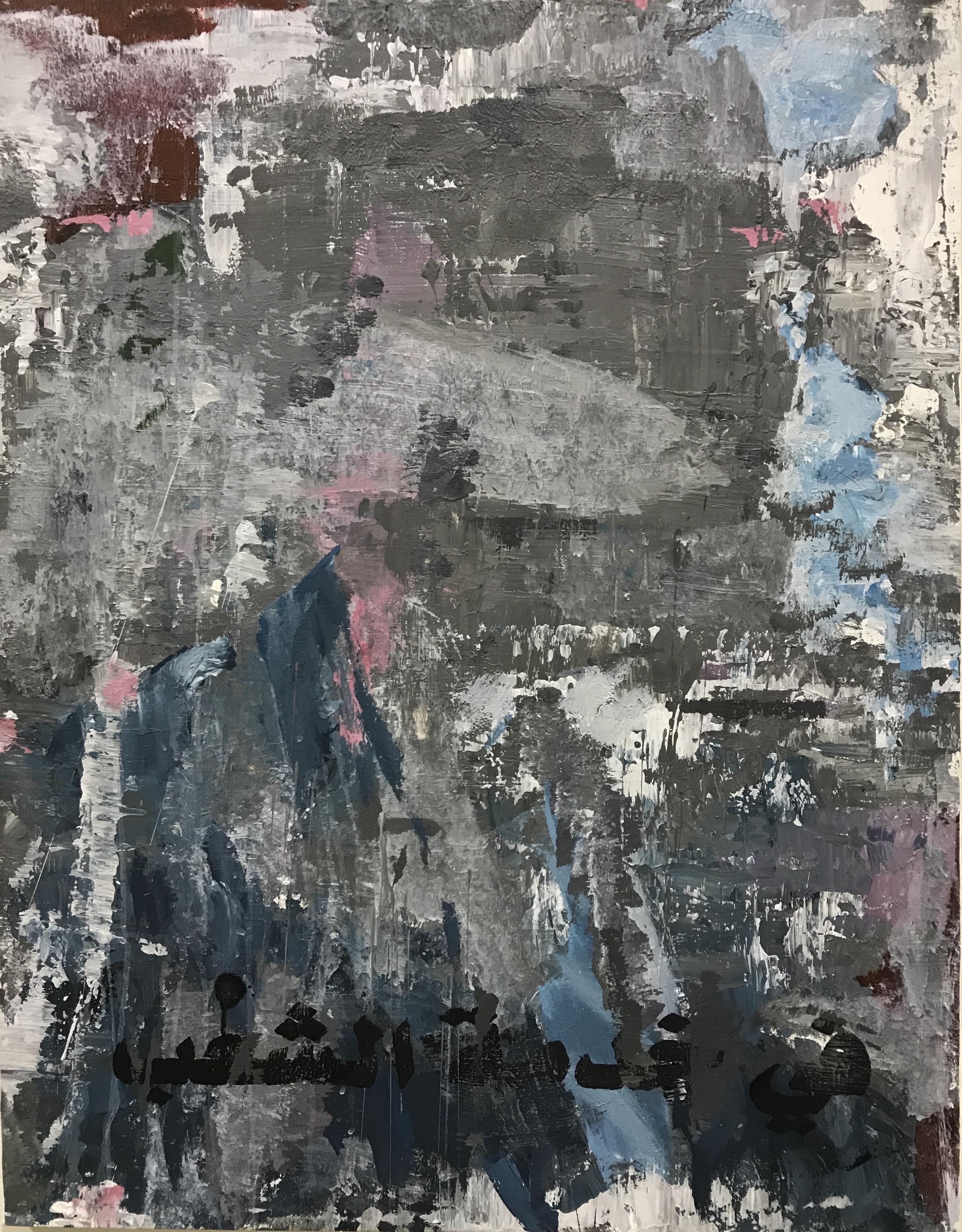Candidate 4 (3) 90cmx70cm acrylic on canvas 2018
