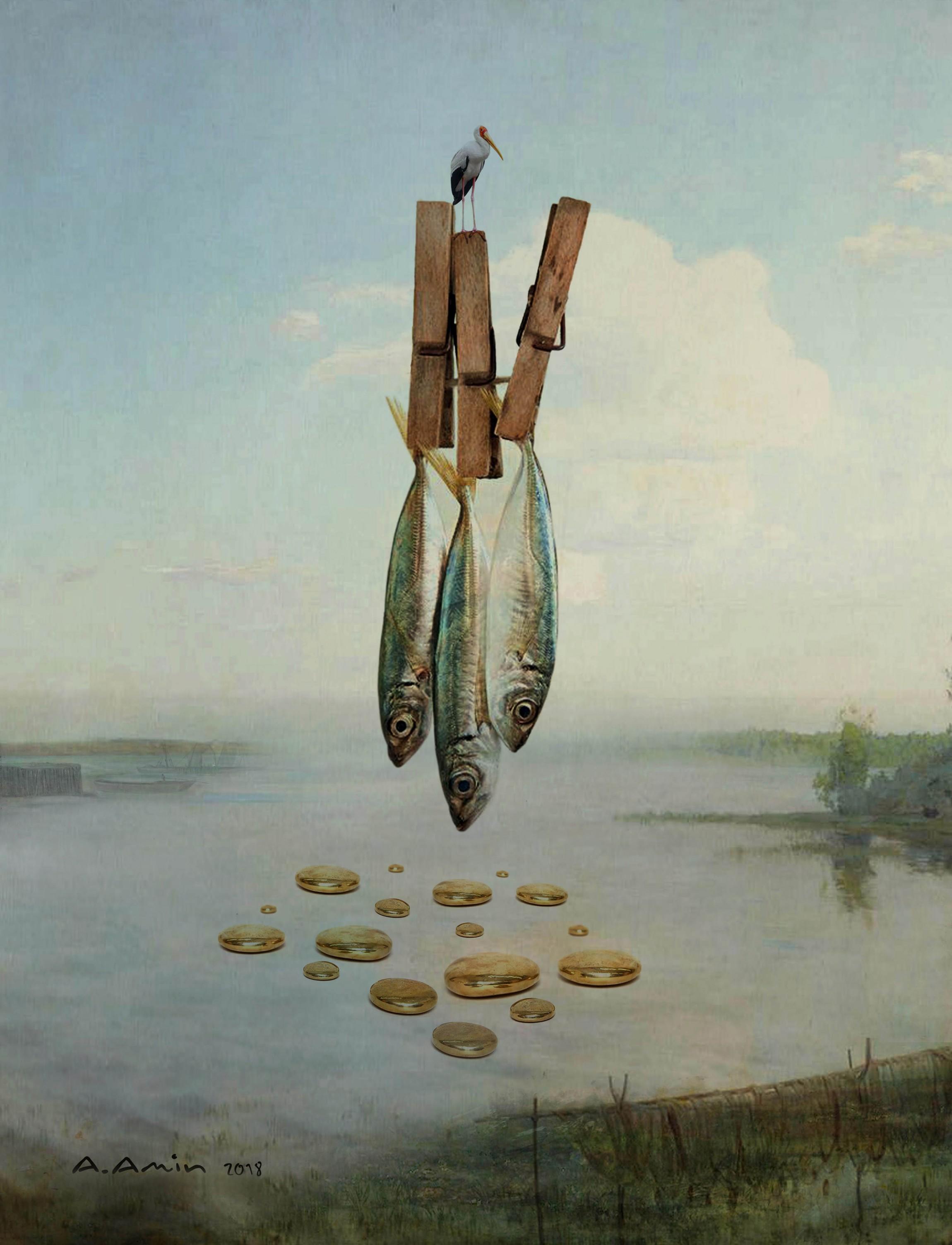 Fish by Amanj Amin