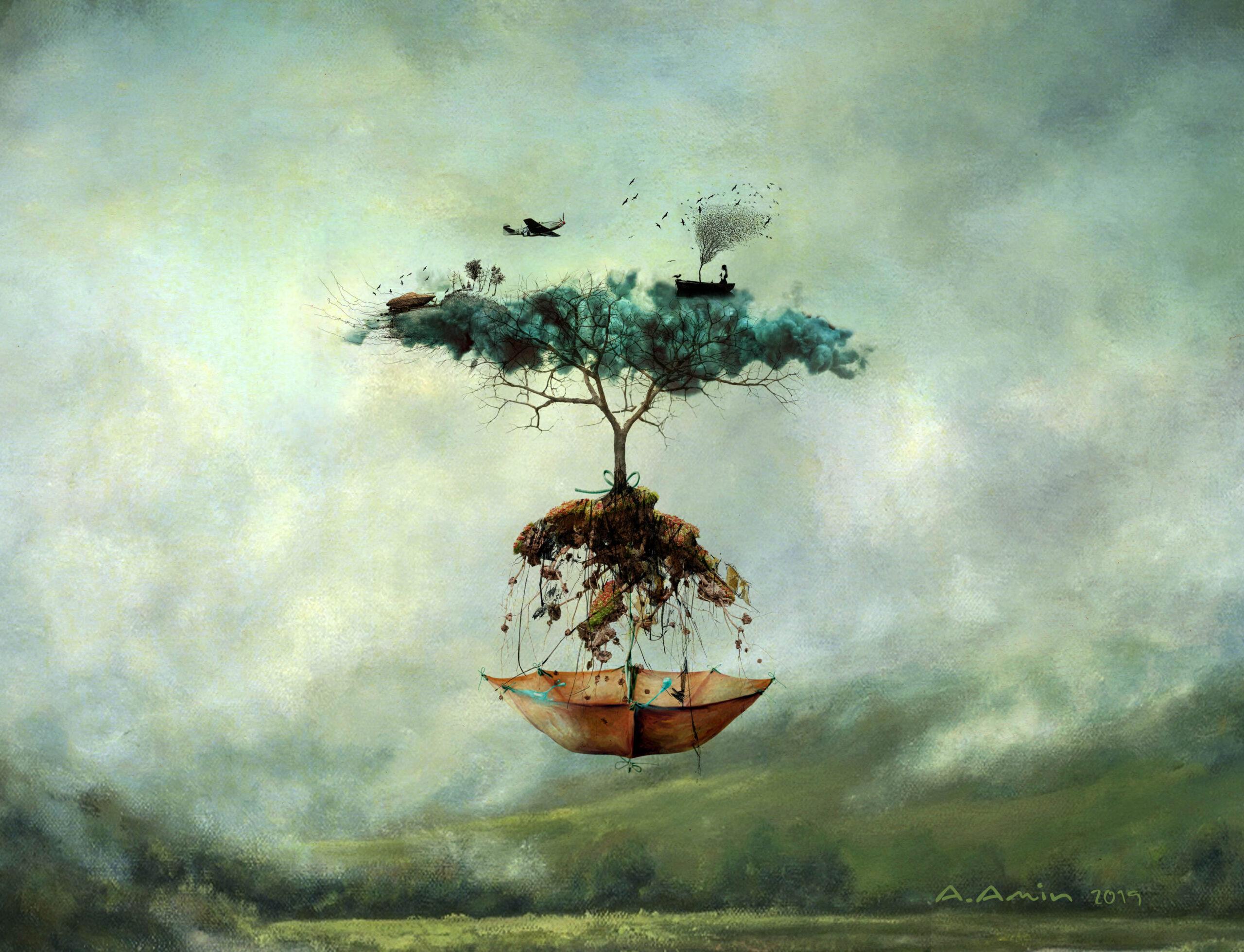 """""""Tree Illustration"""" by Amanj Amin"""