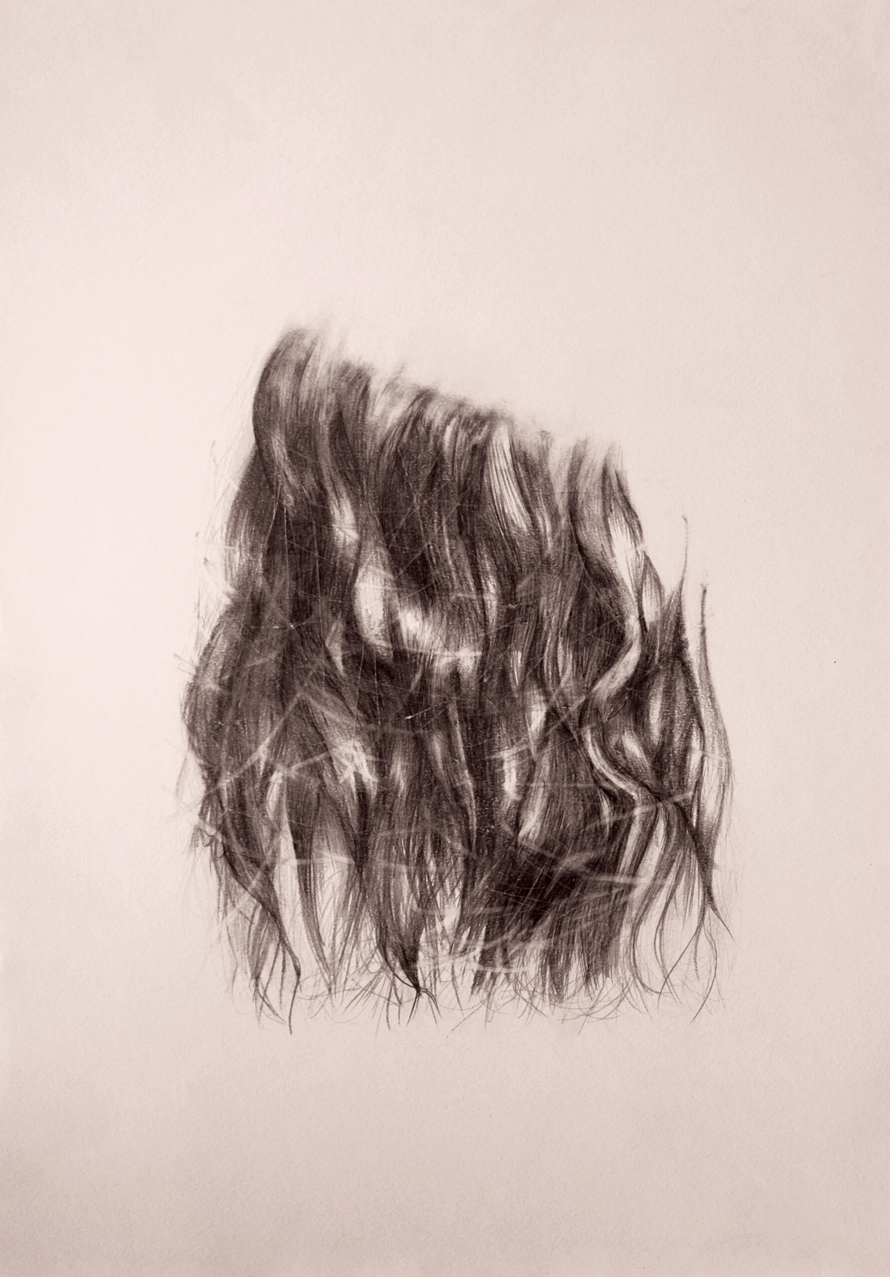 """Floating Hair"" by Samia Soubra"