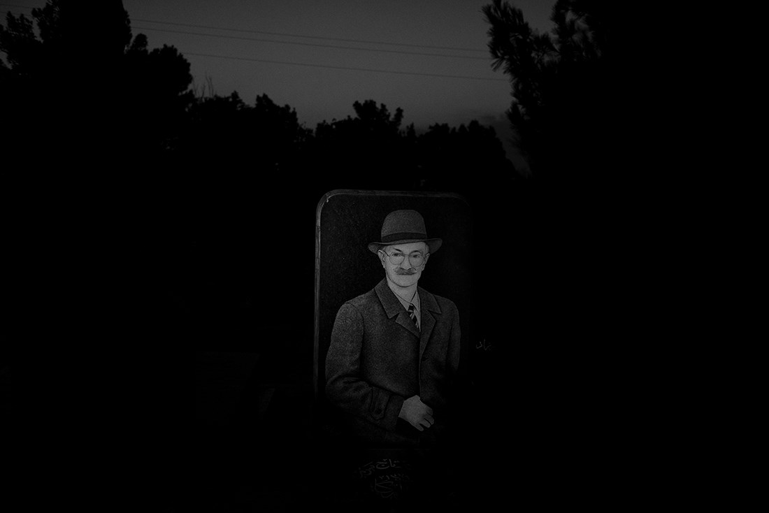 """Tabriz Cemetery 2"" by Sajed Haqshenas"