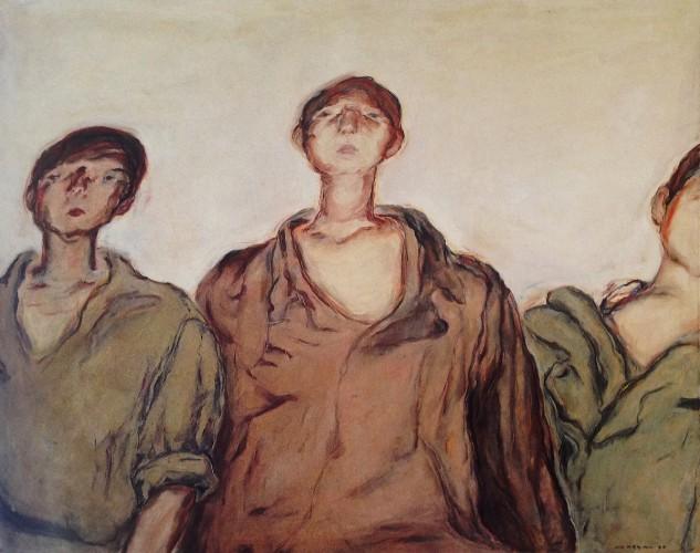 """""""Three Palestinian Boys"""" by Marwan Kassab"""