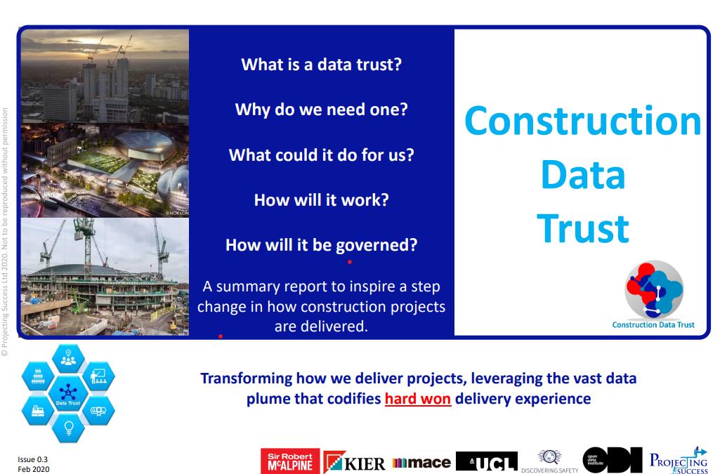 Construction Data Trust Brochure