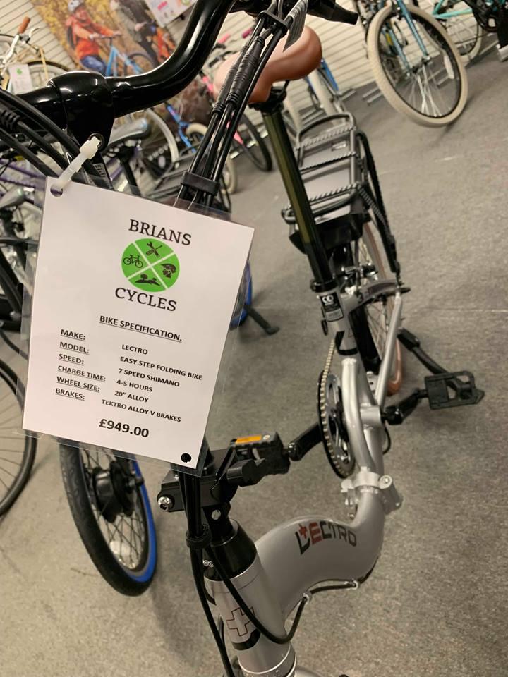 Lectro - Easy Step folding bike
