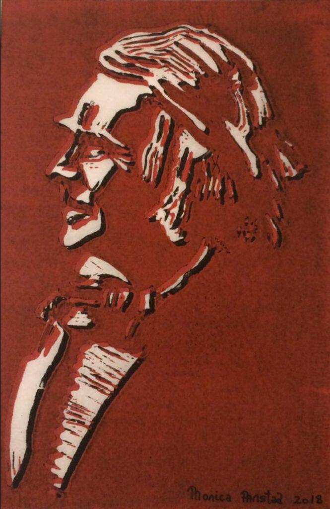 Monica Aanstad - Ole Bull rød