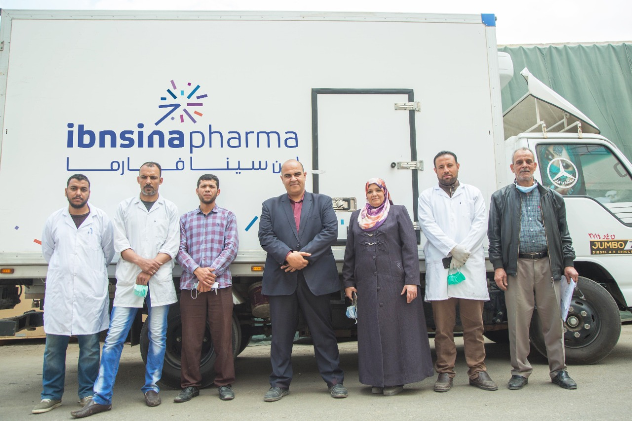 Ibnsina Pharma Donates EGP 4 million worth of pharmaceuticals to Quarantine Hospitals