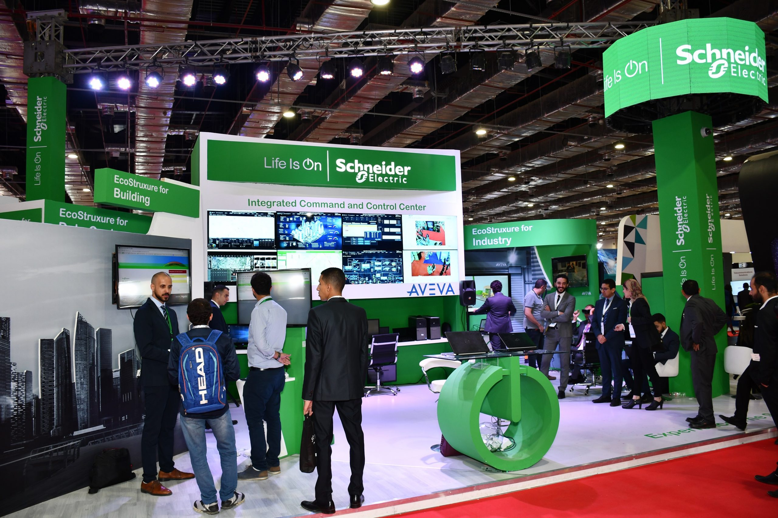 Schneider Electric showcases the latest smart city technologies at Cairo ICT 2018