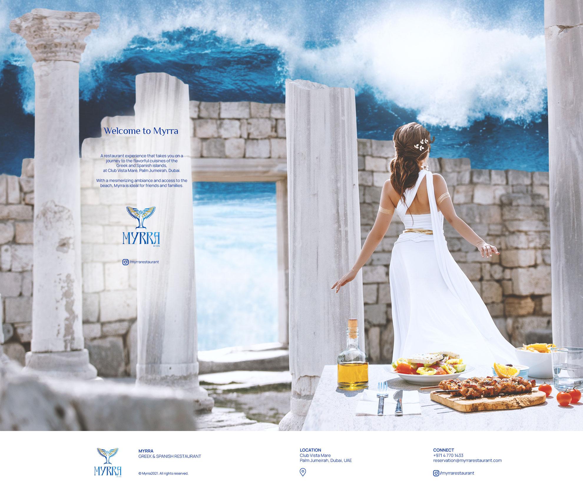 Myrra Restaurant - Coming soon
