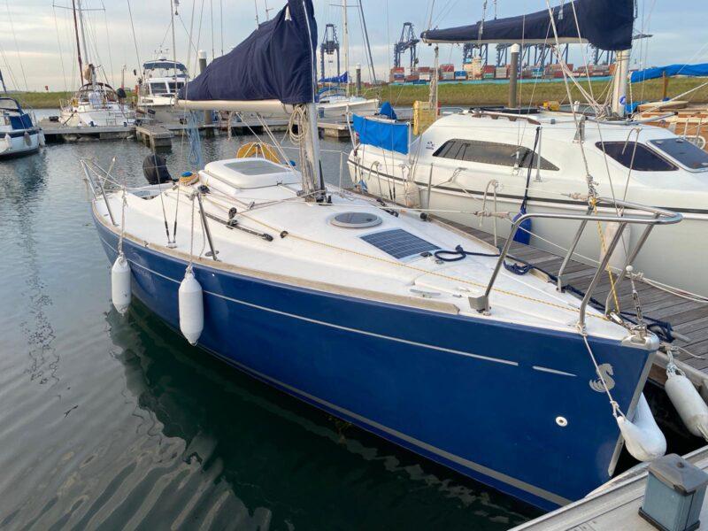 Beneteau First 211 Blue Panda in the water