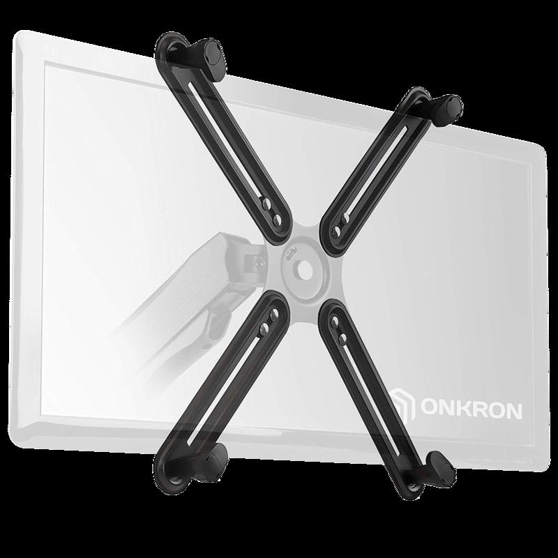 ONKRON VESA Adapter for Most 13 to 27-inch Non-VESA Monitors up to 17.6 lbs A1V