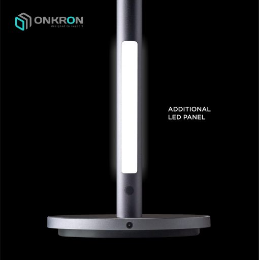ONKRON Desk Lamp with 3 Lighting Modes Dual Light D5A (Pearl BlackBerry)