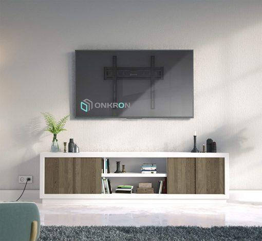 "ONKRON TV Wall Mount for 32-55"" FM5 Black"
