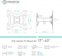 ONKRON TV Mount for 22