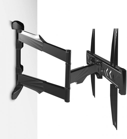 ONKRON Full Motion TV Wall Mount Bracket for 40 to 75 Inch - NP47 Black