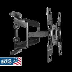 ONKRON Universal TV Mount Tilt Swivel Wall Bracket for 32 to 60-Inch LED LCD Flat Panel TVs M15 Black