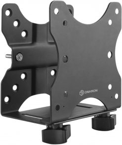 ONKRON Thin Client Mount Mini PC Monitor Mount Bracket VESA 50x50 75x75 100x100 A3N Black