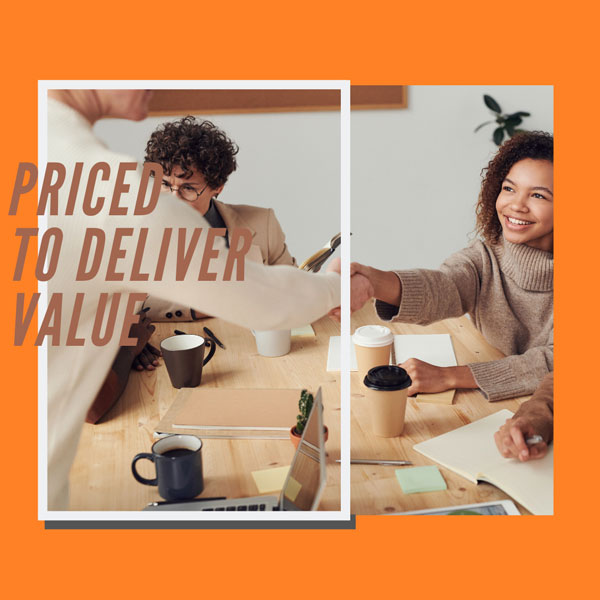 Priced-to-deliver-value