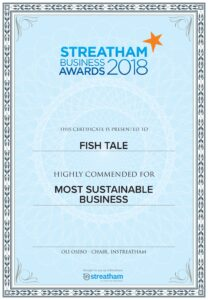 STREATHAM BUSINESS 2018 AWARDS