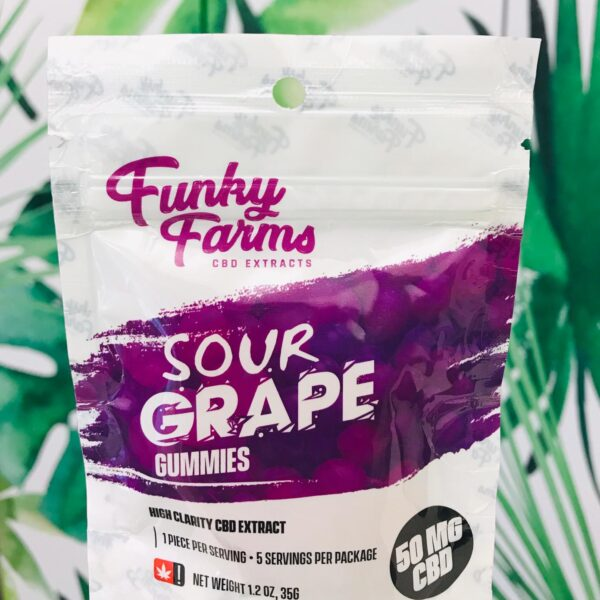 Sour Grape Gummies