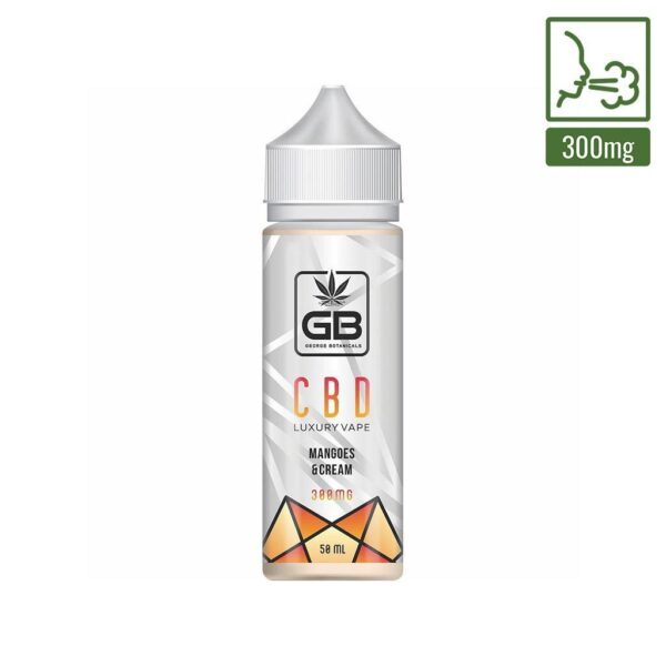 e-liquid Mangoes and cream