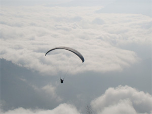 Paragliding at Chungbung