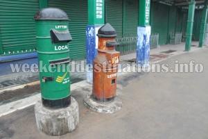 Post Boxes at Mall, Darjeeling