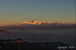 View from Tiger Hill, Darjeeling
