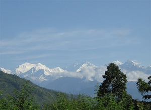 View from Biksthang