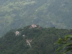 Tashigang from Rabdentse
