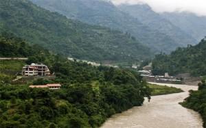 River Rangeet at Baiguney