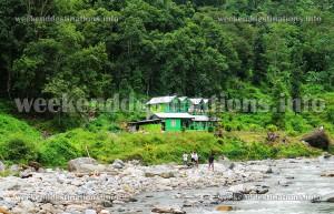 Reshi Khola accommodation. Courtesy: Abhijit Das