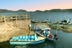 Boating in Rambha