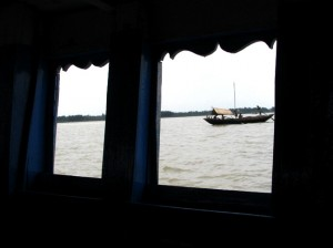 Ferry ride at Geonkhali