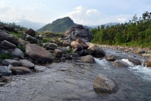Chel River near Fagu