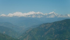 Mt. Kanchenjungha from Solophok