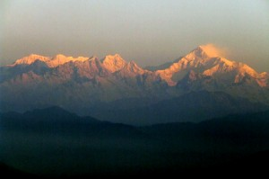 Mt. Kanchenjungha from Jhusing