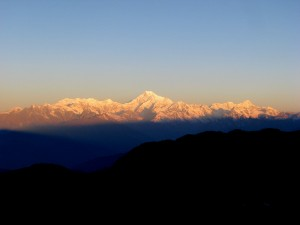 Mt. Kanchenjungha from Eagle's Nest
