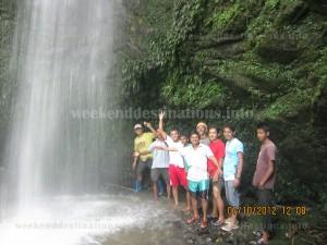 jhakhri falls at kagay