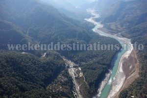 View of Teesta from Ramdhura