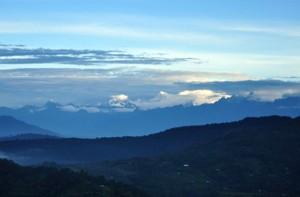 Kanchenjungha from Jhandi