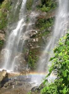 Indrani waterfall