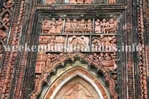 Terracotta Temple at Moolti Village near Singee